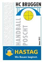 Handball Poscht: Januar 2012 - HC Bruggen