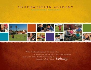 Viewbook - Southwestern Academy
