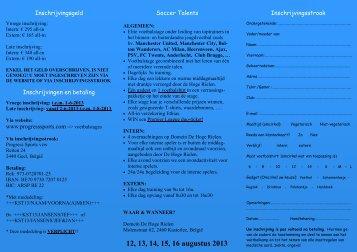 Flyer KAPPA Soccer Talents (NL) 2500x