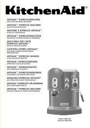 Artisan™-Espressomachine Artisan™ ESPRESSO ...