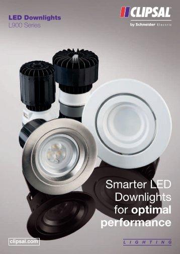 Smarter LED downlights for optimal performance, 24539 - Clipsal