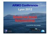 Peak Internal Air Temperature - ARMO 2012