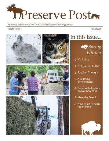 Preserve Post - Spring 2014