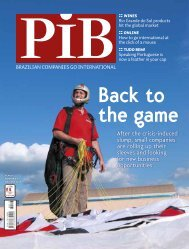 after the crisis-induced slump, small companies are ... - Revista PIB