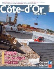 Janvier 2009 en PDF - Conseil général de Côte-d'Or