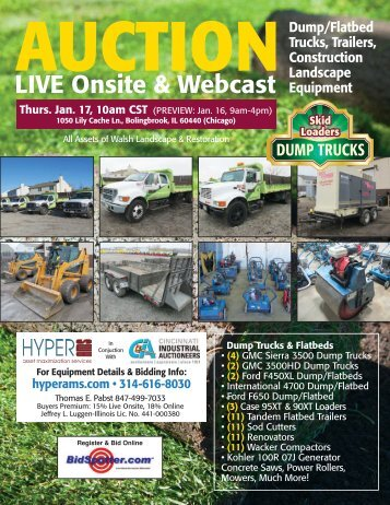 Walsh Landscape and Restoration, LLC - to HyperAMS