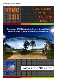 L'offre Argent comprend - ARMO 2012