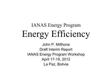 Draft Interim Report - ianas