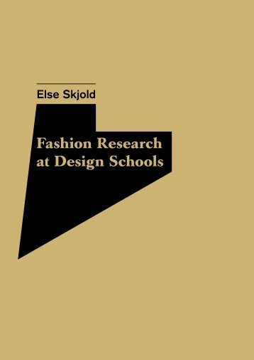 Fashion Research at Design Schools - Copenhagen Business School