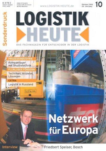 Sonderdruck - Blank-Logistik