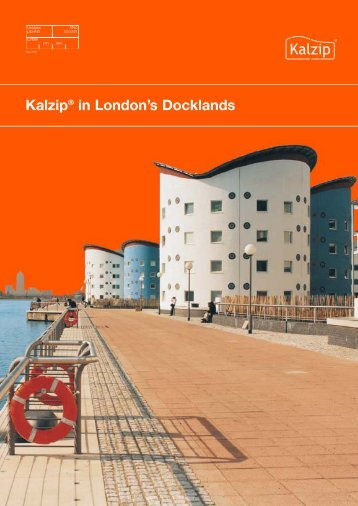 Kalzip® in London's Docklands