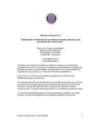 Informe de Avance 3 - Departamento de Biología