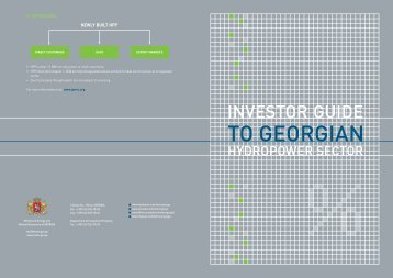 investor guide - Hydropower Investment Promotion Projects