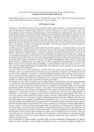 Un padre assente del Concilio Vaticano II - Confederazione dell ...