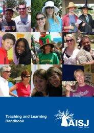 Teaching and Learning Handbook - American International School ...