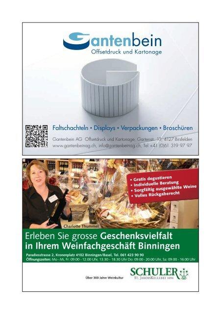 Programmheft - beim CC Basel-Regio