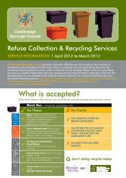 What is accepted? - Castlereagh Borough Council