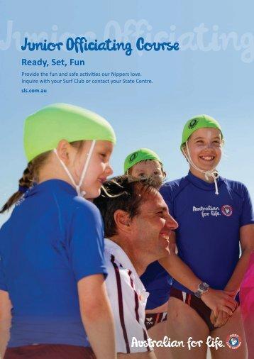 Junior Officiating Course - Surf Life Saving Australia
