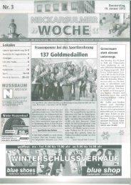 Bericht NSU-Stimme - RC Pfeil Neckarsulm eV