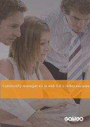 GA3124 Community manager en la web 2.0 y redes sociales