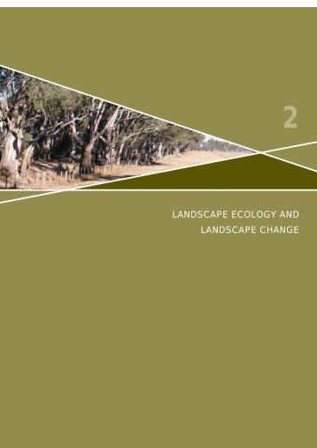 Chapter 2: Landscape Ecology and Landscape Change