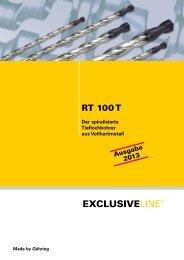 RT 100 T – Lagerprogramm - Gühring oHG