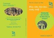 conférences sur différents thèmes - La Seyne-sur-Mer