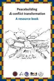 Peacebuilding &conflict transformation A ... - Peaceworkafrica