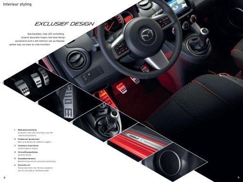 Mazda2 accessoires