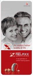 to download the Hansaton RELAXX end-user brochure ... - Puretone
