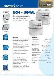 Contatori Membrana G4 - Watergas