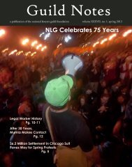 GuildNotes Spring 2012 web(1).pdf - National Lawyers Guild