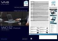 VAIO SZ Premium - Sony Style
