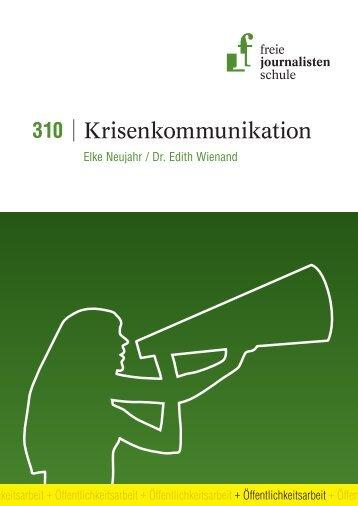 Krisenkommunikation - Freie Journalistenschule