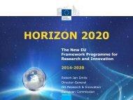 Launch Horizon 2020
