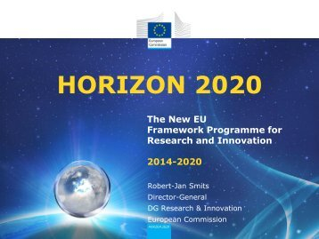 Launch Horizon 2020
