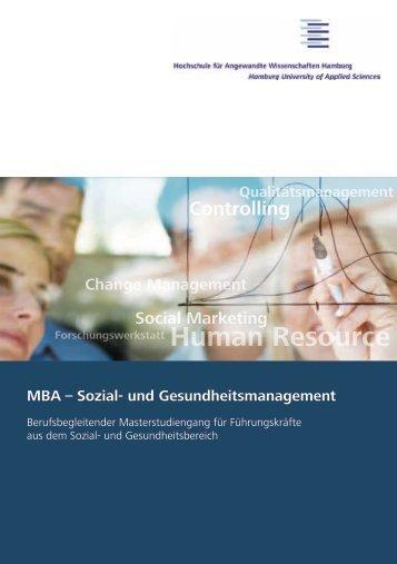 Flyer zum Studiengang - ZEPRA