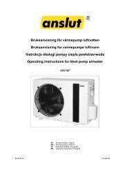 Instrukcja obsługi (4.3 MB - pdf) - Jula