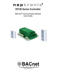 EFCB Series Controller - Neptronic