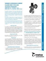 Bulletin B107-1FR 04-08 - Metso
