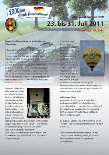 2000km_Newsletter_01_2011 - 2000 Kilometer