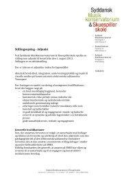 Stillingsopslag - Adjunkt - Syddansk Musikkonservatorium og ...