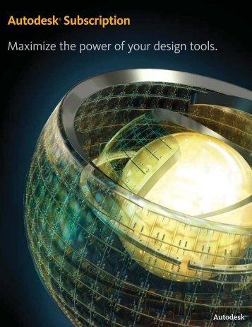 Autodesk Subscription Brochure - Ad-Tech Inc