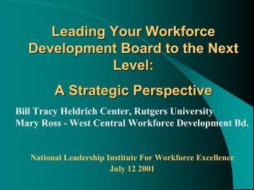 Download - John J. Heldrich Center for Workforce Development