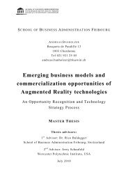 Emerging business models and commercialization opportunities of ...