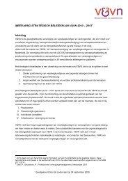 MEERJARIG STRATEGISCH BELEIDSPLAN V&VN 2010 – 20131 ...