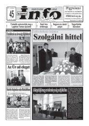 A kárpátaljai magyar tudományosság szolgálatában - Kárpátinfo.net