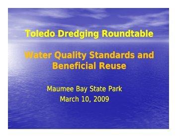 Randy Bournique - Toledo Dredging - Western Lake Erie Basin ...