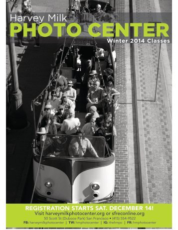 PHOTO CENTER - Harvey Milk Photography Center