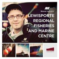 LEWISPORTE REGIONAL FISHERIES AND MARINE CENTRE